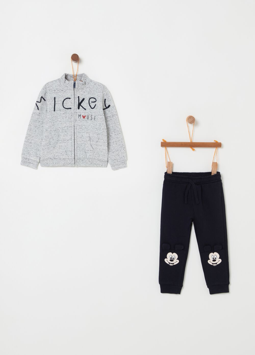Disney Mickey Mouse jogging set with ears