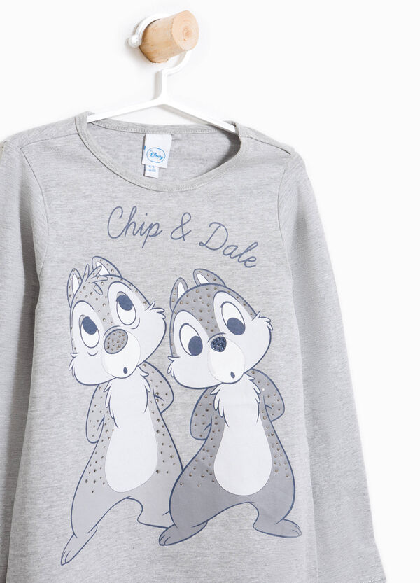 Cotton T-shirt with Chip 'n' Dale print | OVS