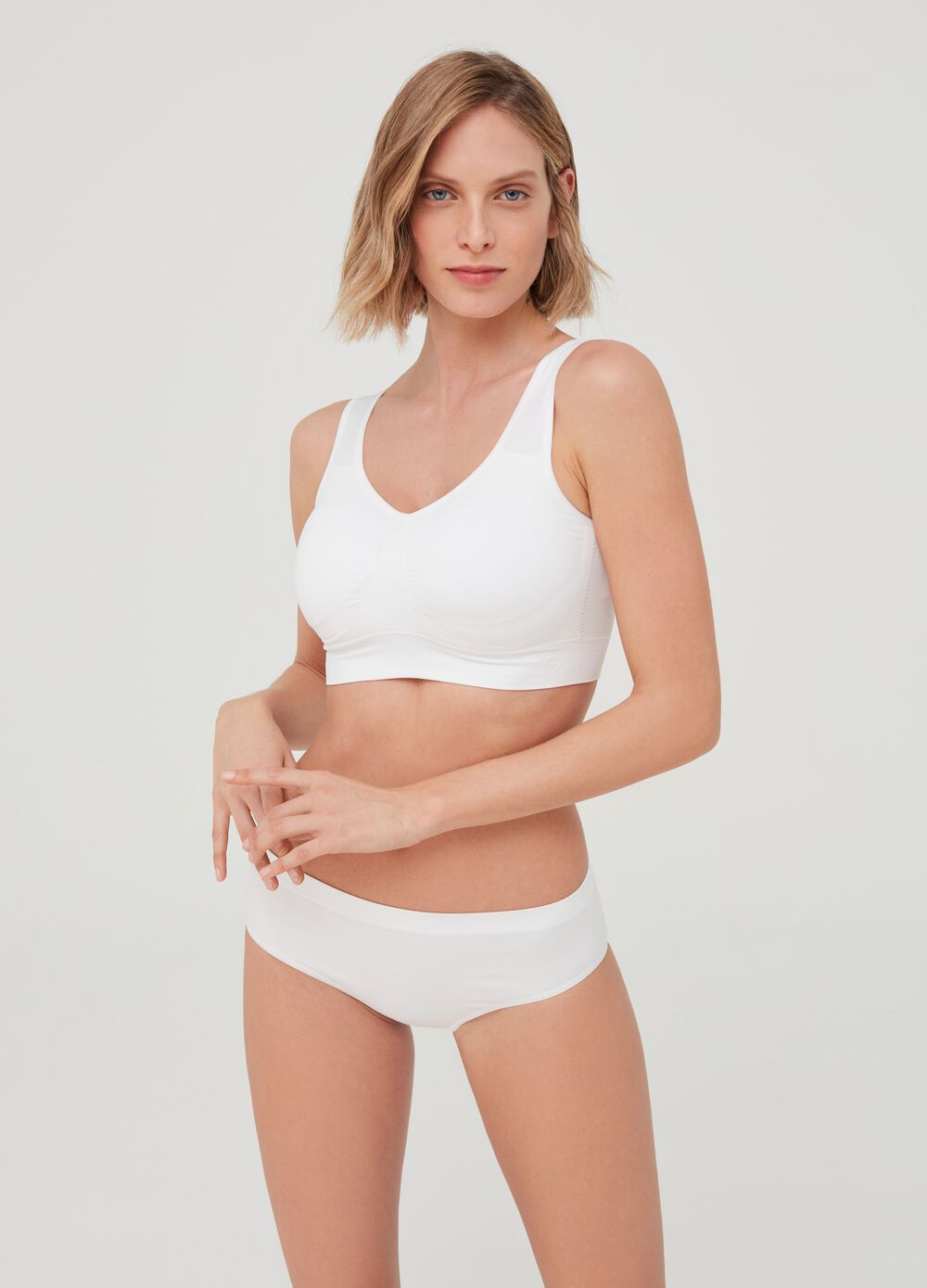 Top bra The One - efecto Natural