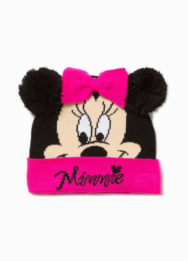 Beanie cap with Minnie Mouse print | OVS