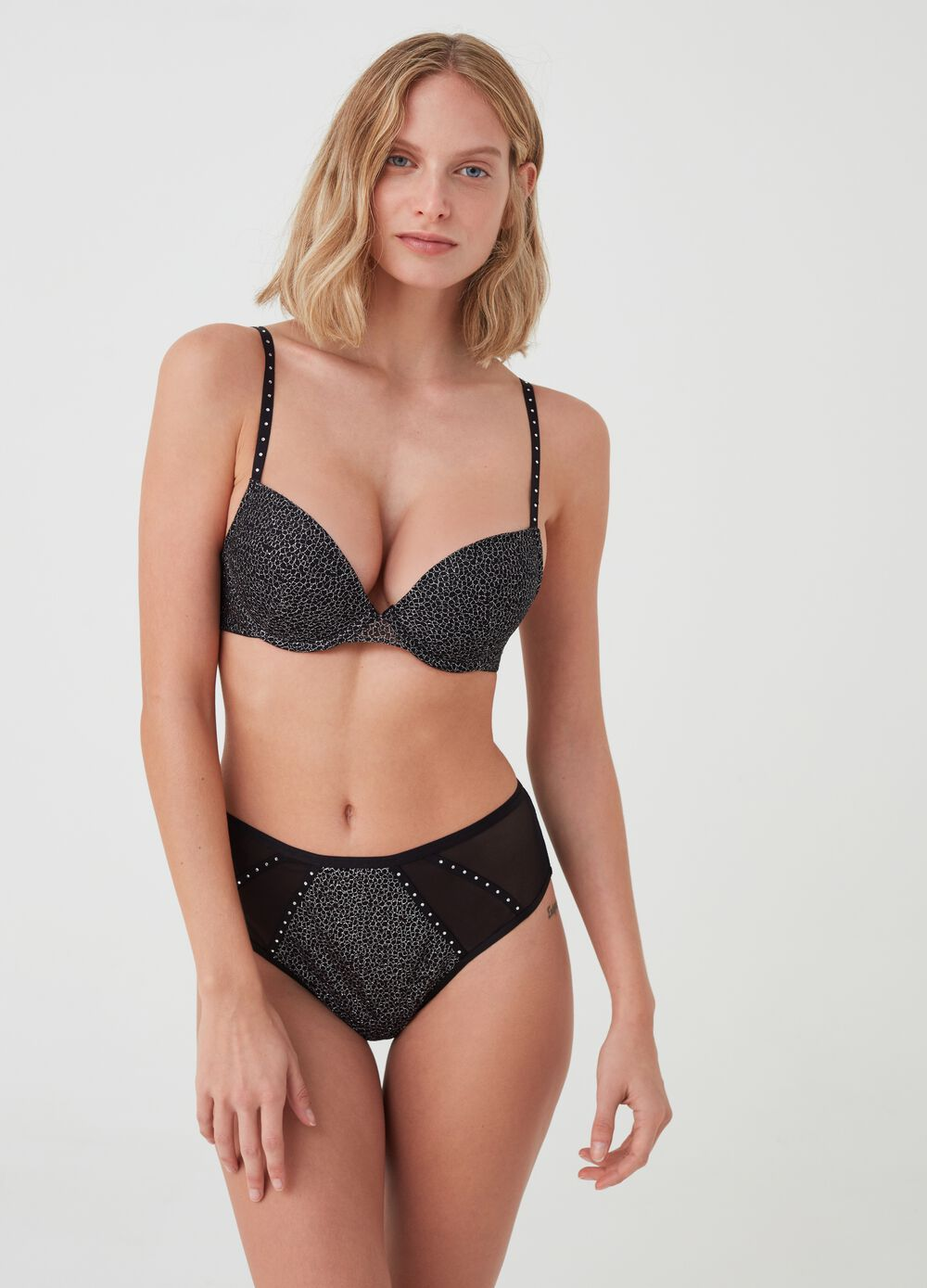 Jennifer Push up - Wow effect with diamantés