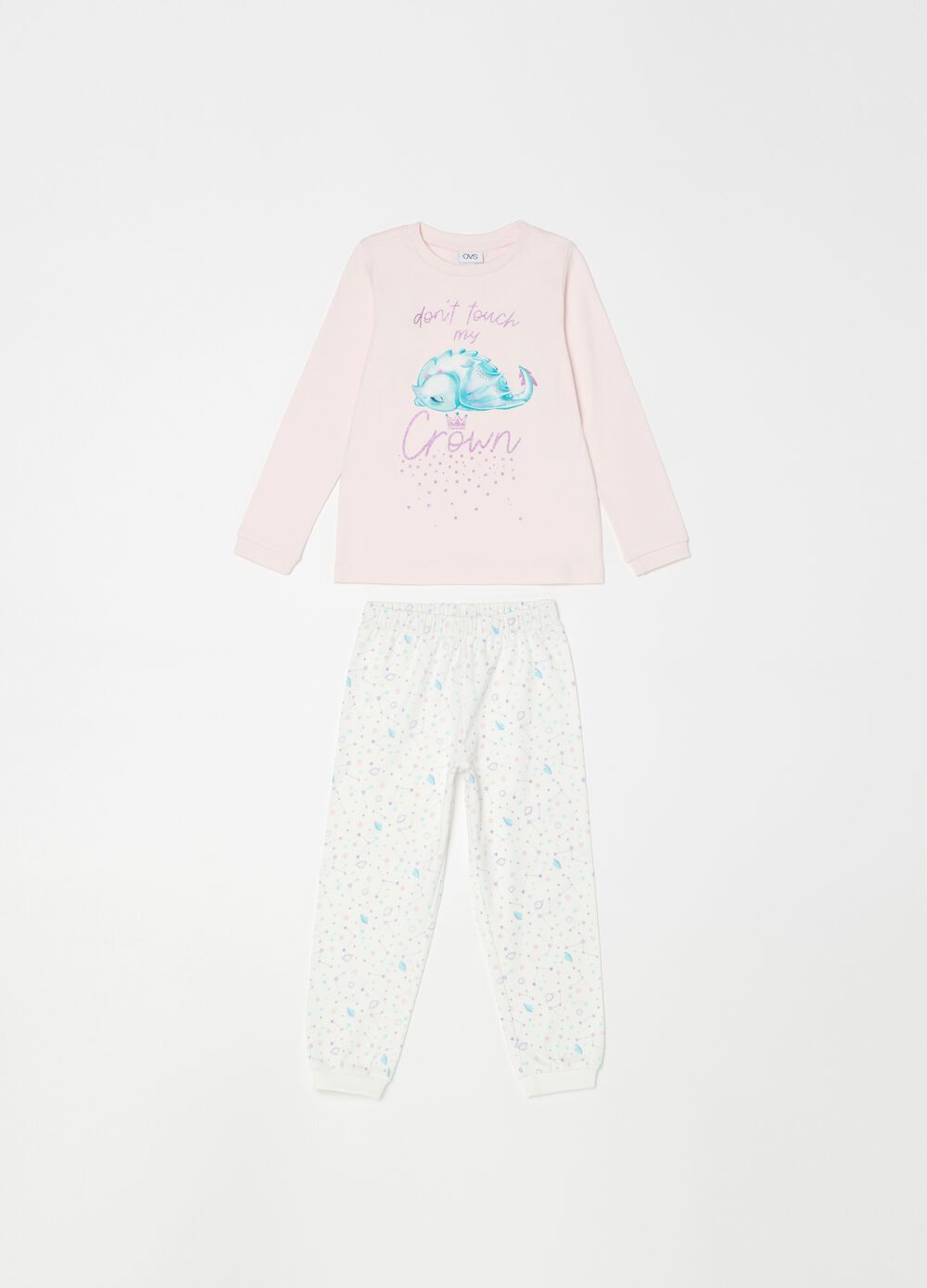 100% organic cotton pyjamas with pattern and print