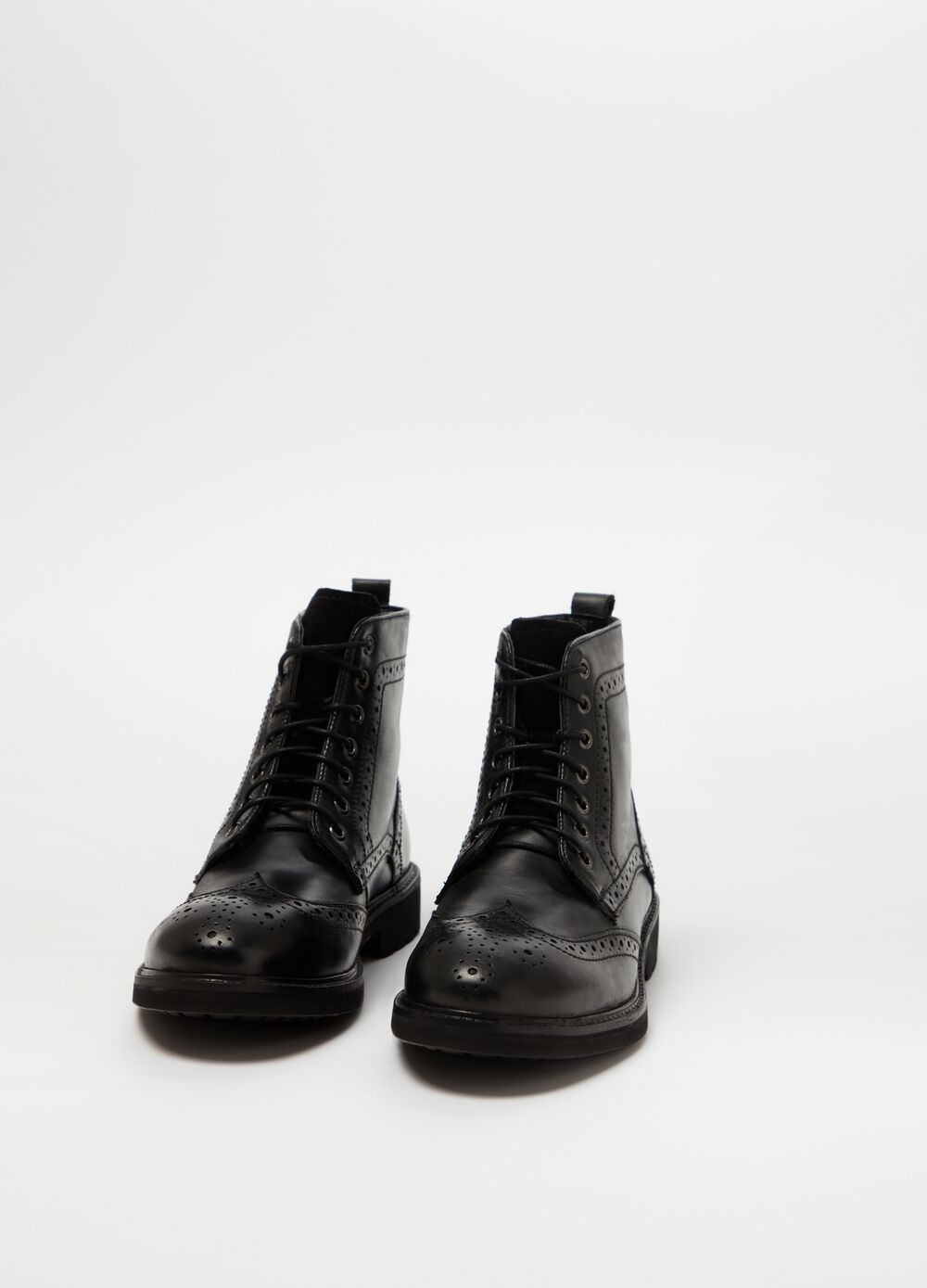 Rumford genuine leather boots