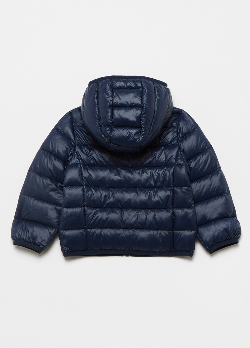 Full-zip quilted ultralight jacket image number null