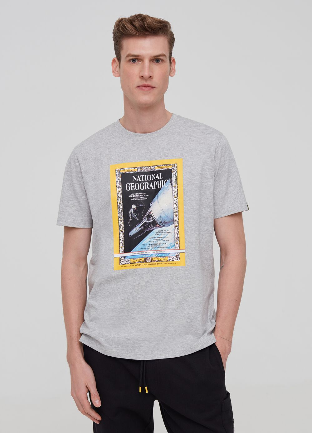 National Geographic mélange T-shirt