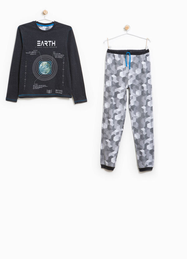 Patterned and printed Better Cotton pyjamas | OVS