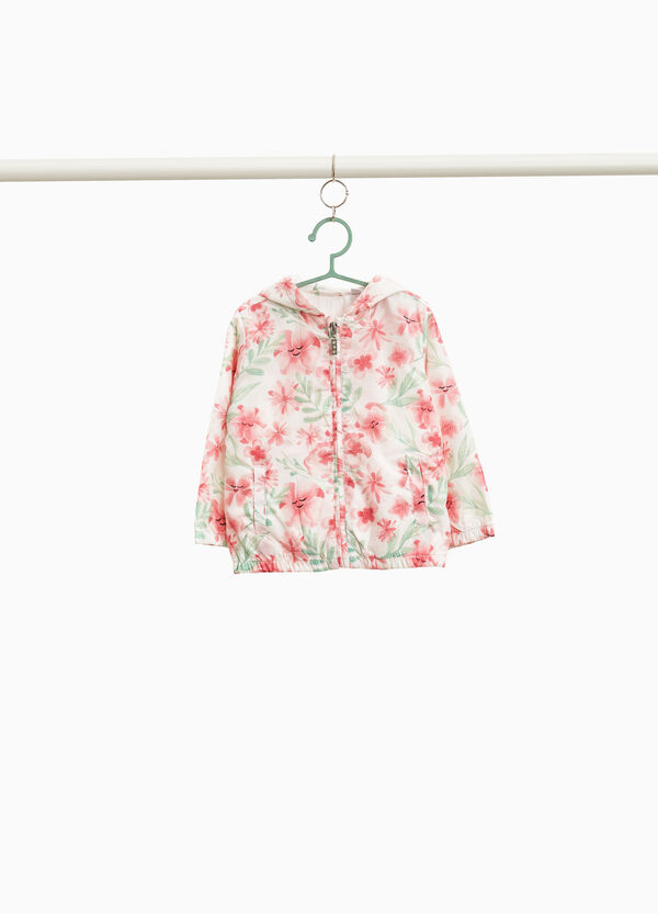 All-over floral print jacket