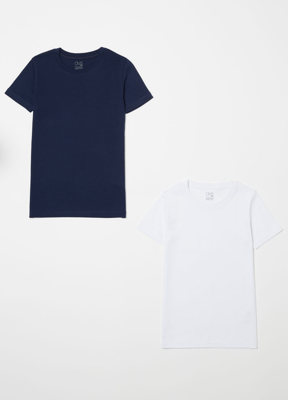 Two-pack 100% biocotton T-shirts