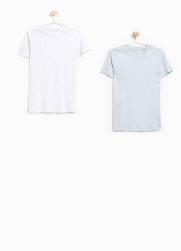 Two-pack organic cotton under shirts