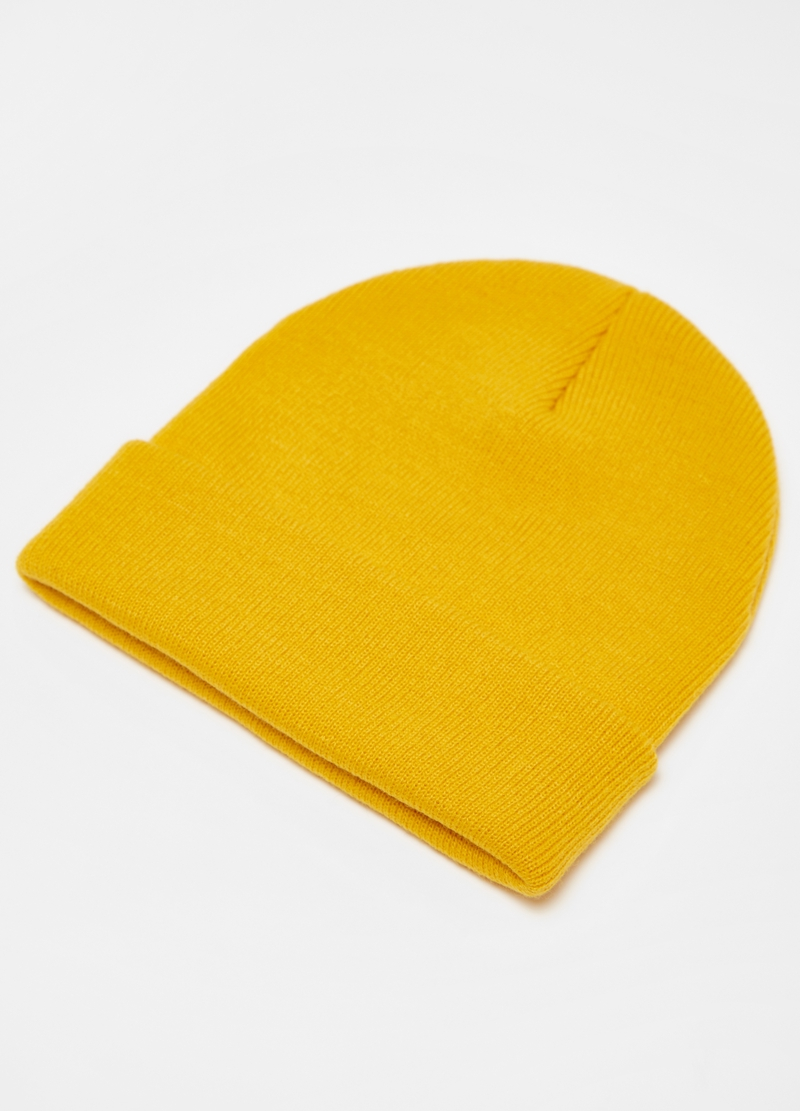 Solid colour hat with fold image number null