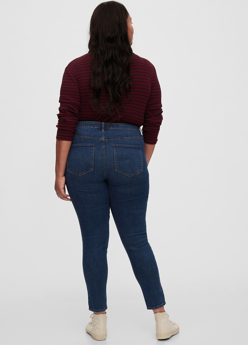 GAP crop jeggings with five pockets image number null