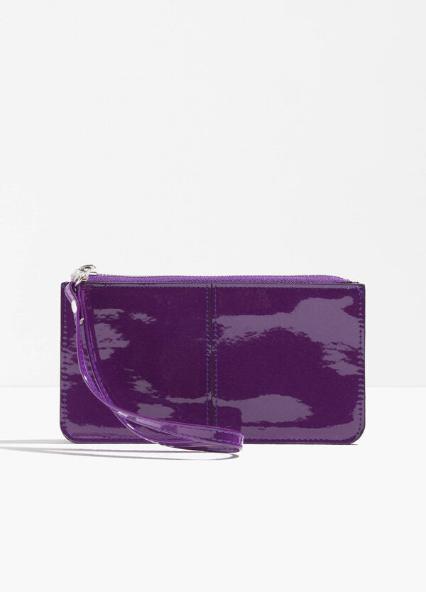 Shiny purse with strap | OVS