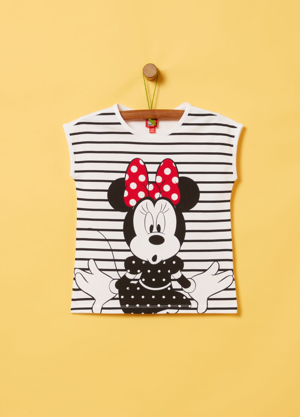 T-shirt cotone stretch Disney Minnie