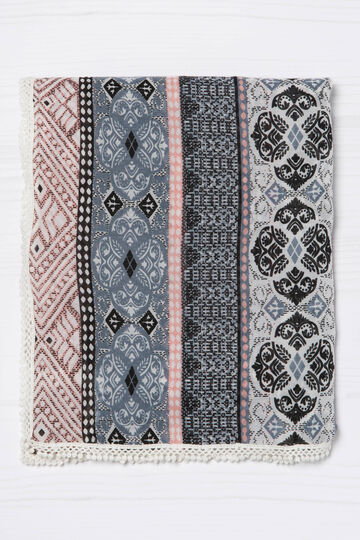 Ethnic patterned scarf