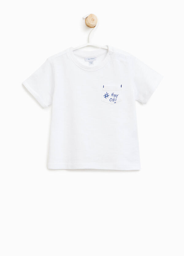 T-shirt with printed pocket | OVS