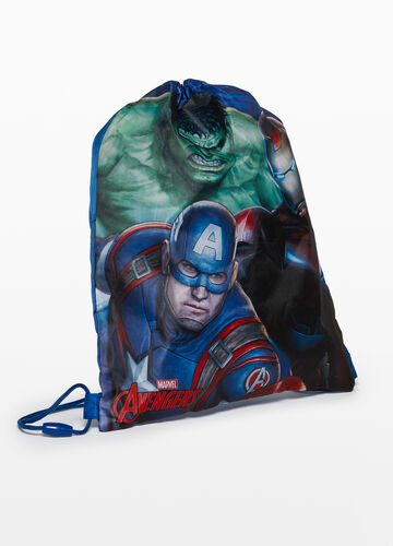 Satchel backpack with The Avengers print