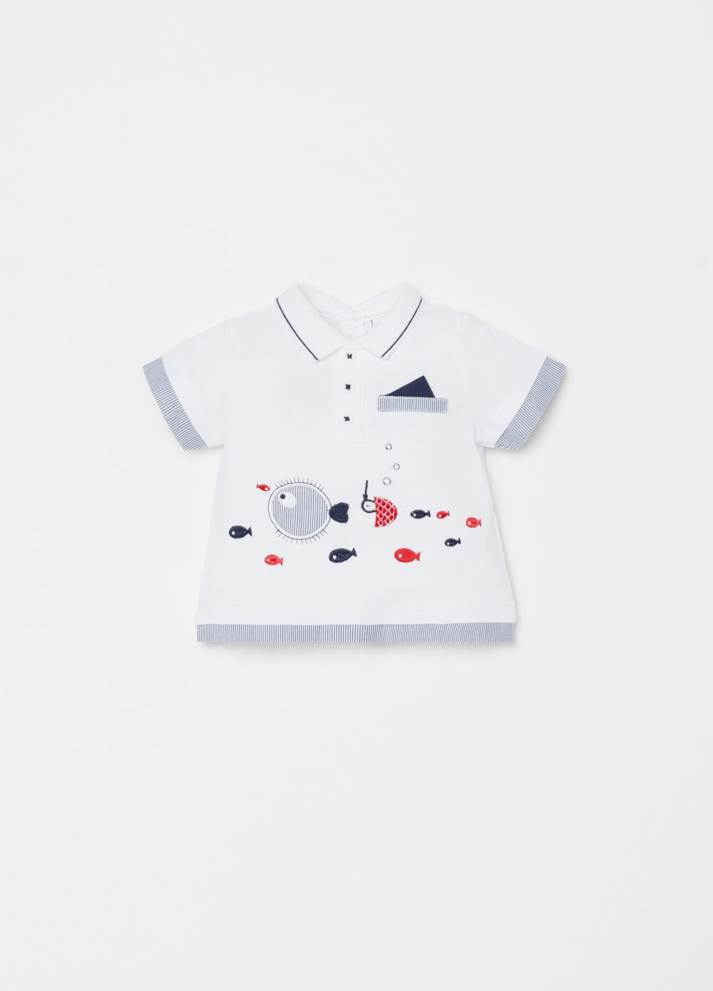 100% organic cotton polo shirt