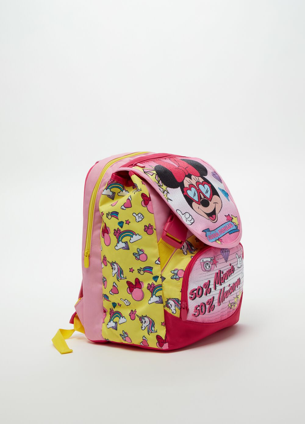 Disney Minnie Mouse backpack.