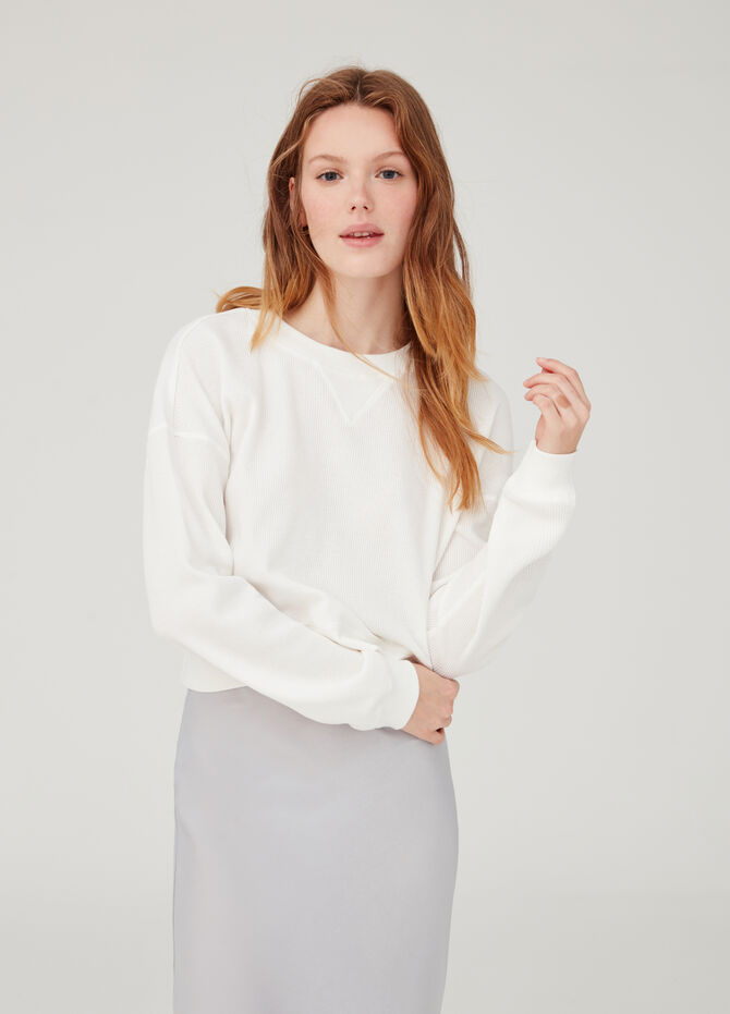 Cotton regular-fit sweatshirt