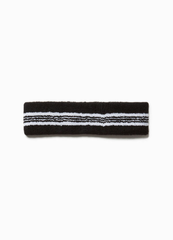 Striped cotton hair band | OVS