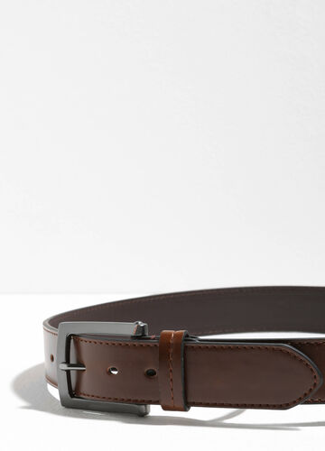 Smooth belt with stitching