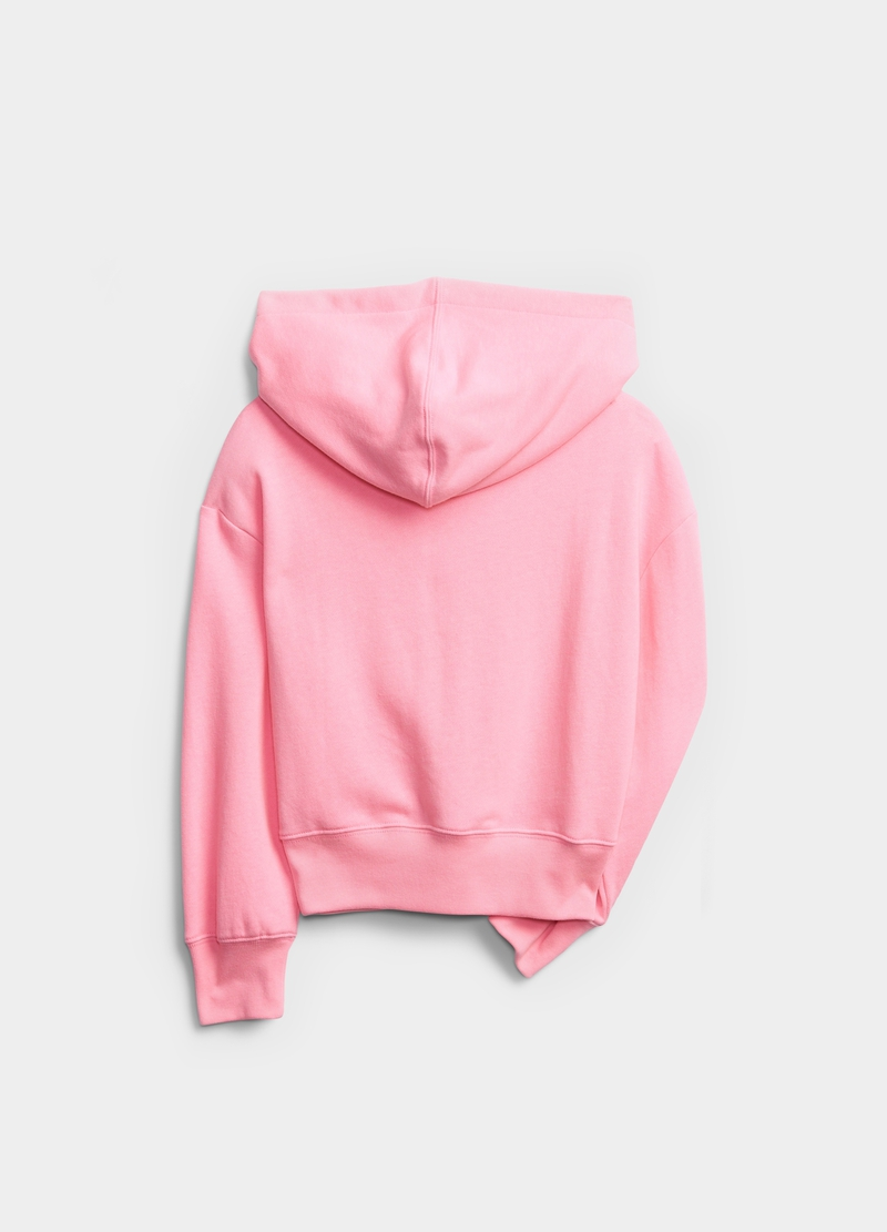 GAP sweatshirt with hood and foil print image number null