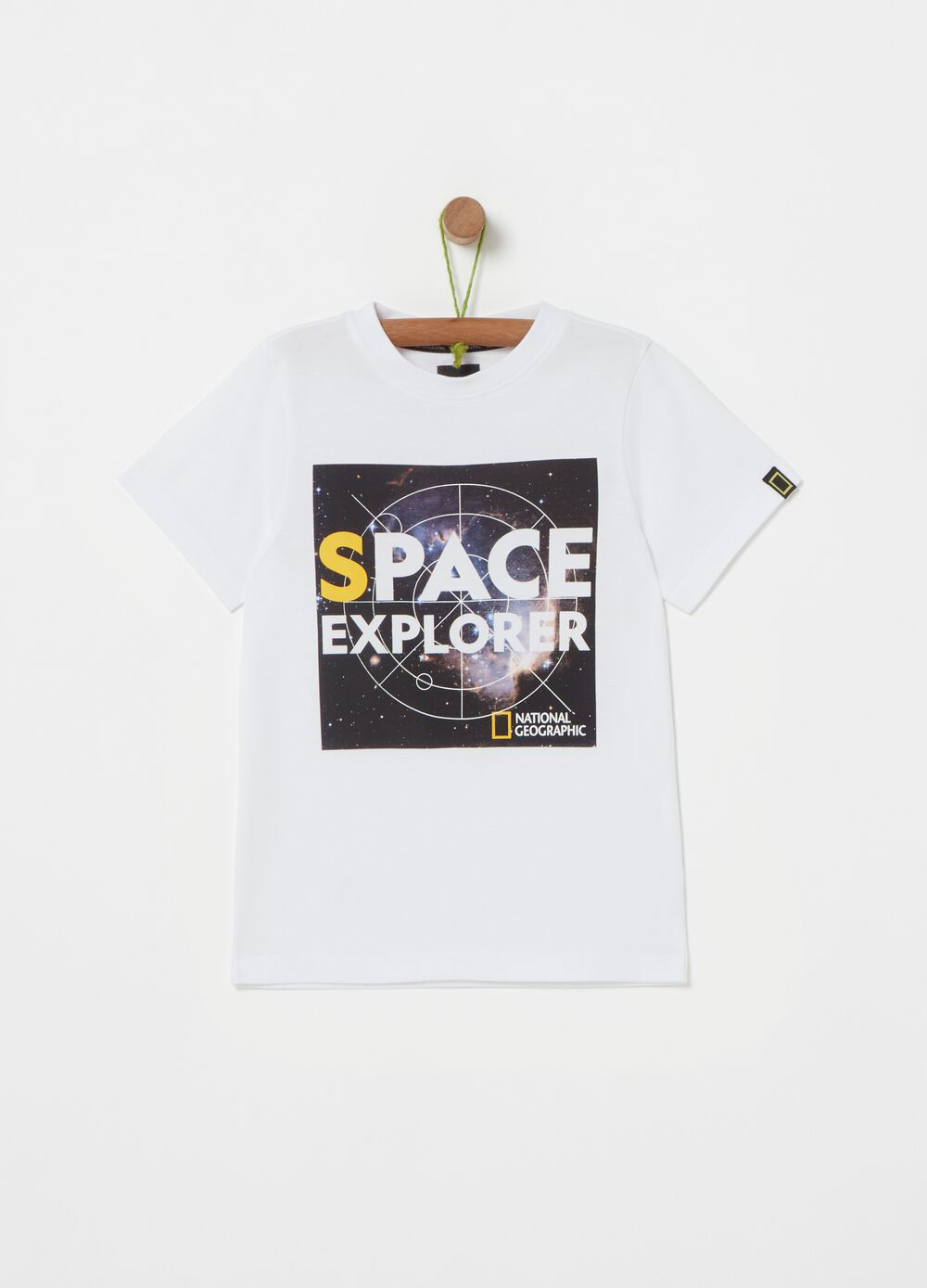 Solid colour National Geographic T-shirt