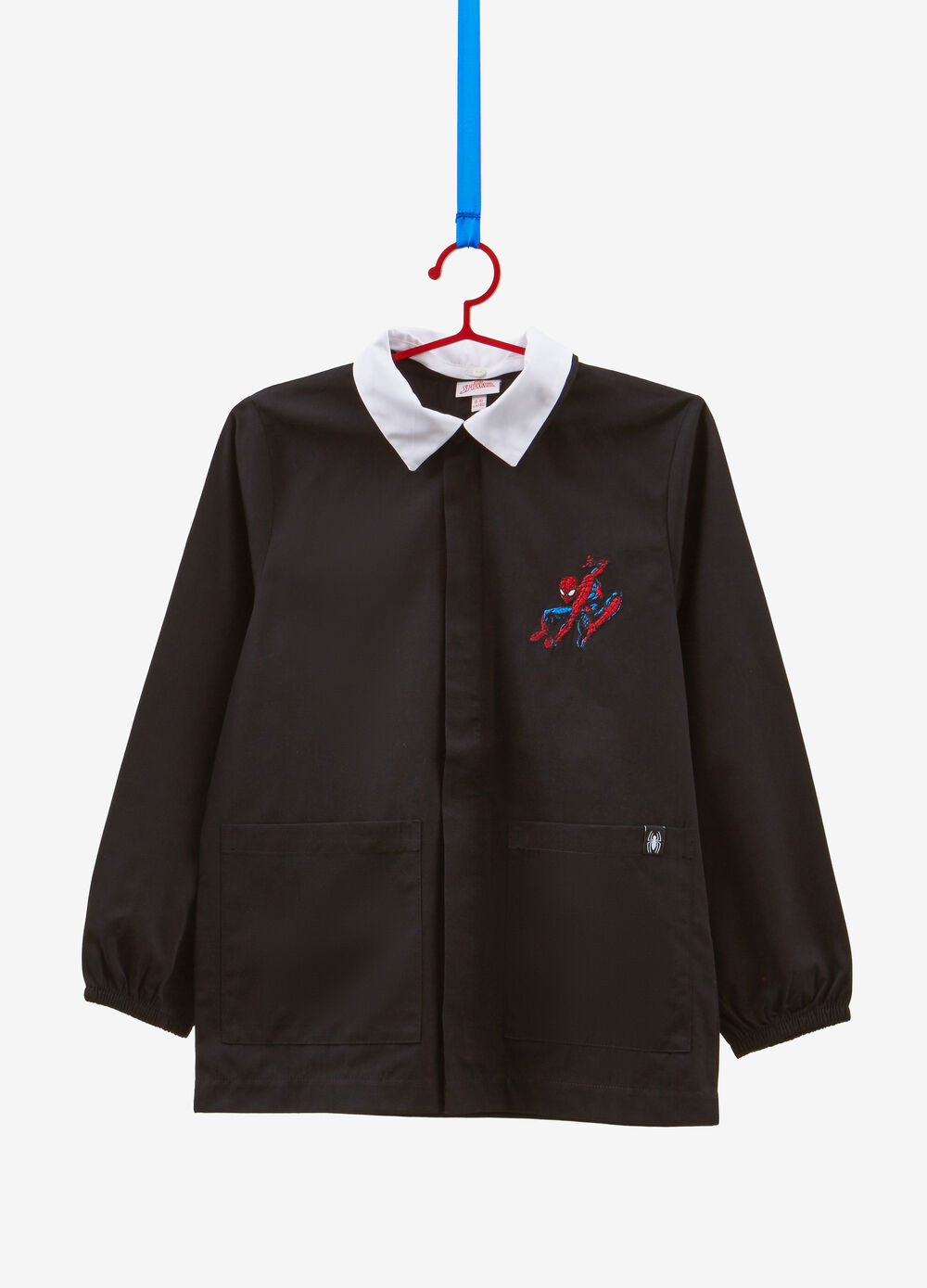 Cotton blend Spiderman smock
