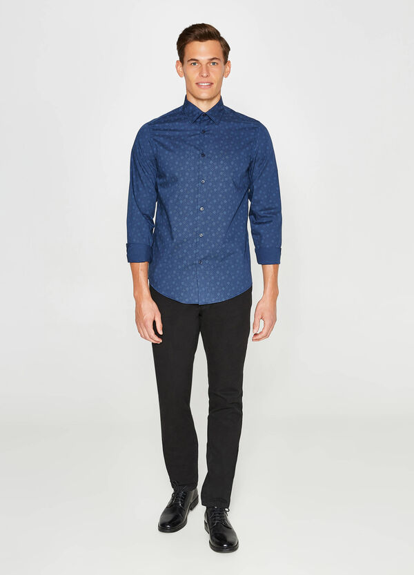 Casual shirt with all-over print   OVS