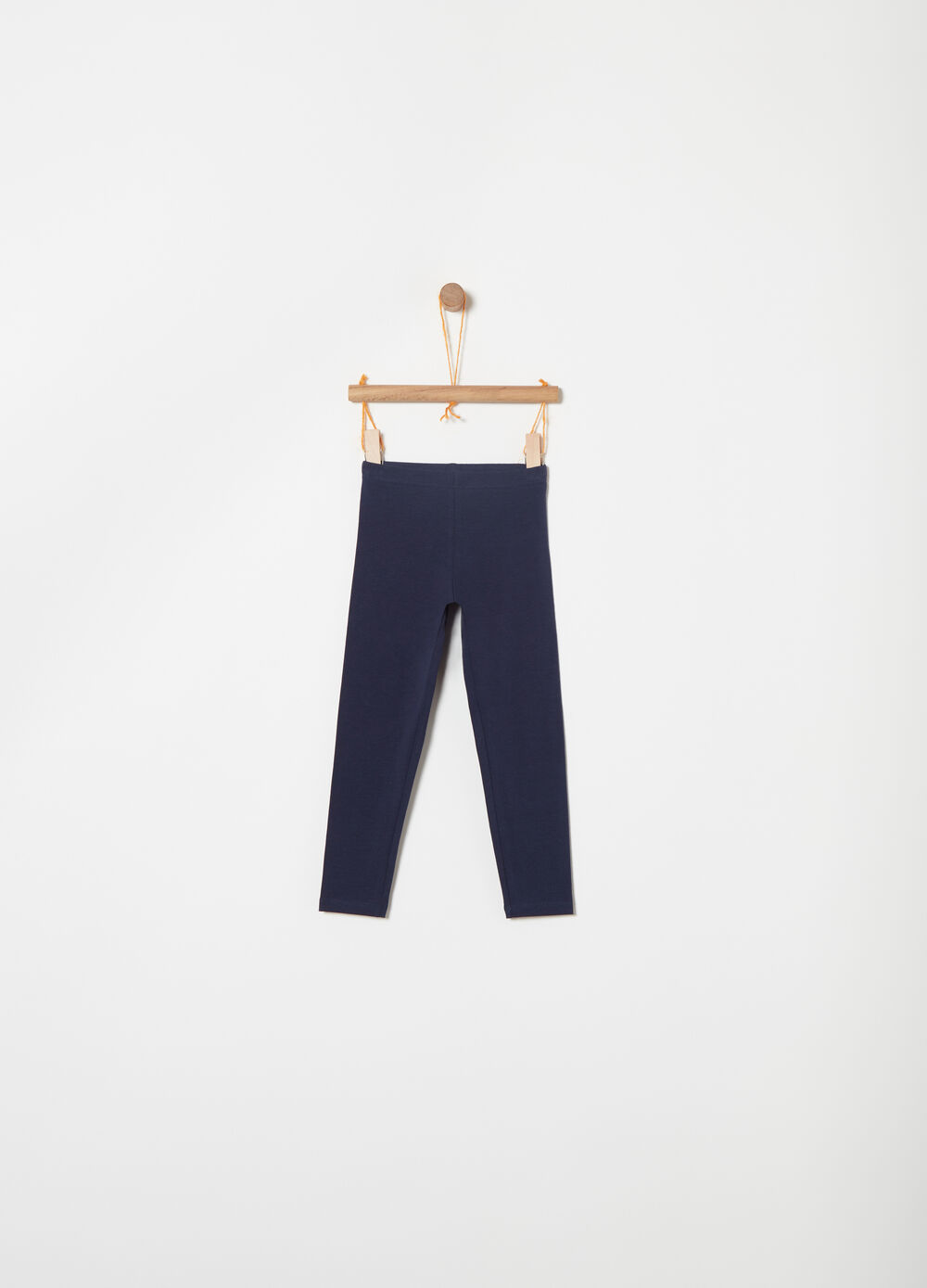 Jersey leggings in stretch Biocotton