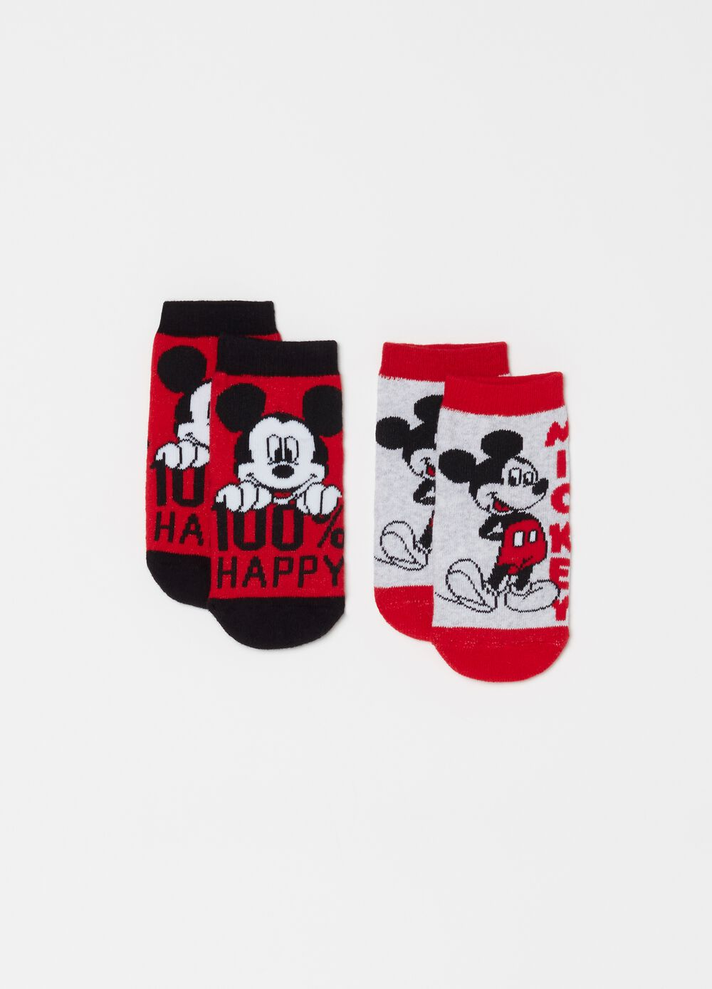 Two-pack short Disney Mickey Mouse socks