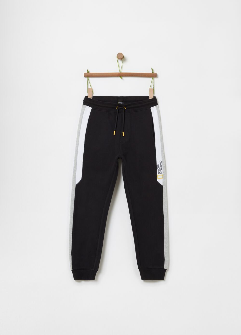 Joggers with National Geographic fleece