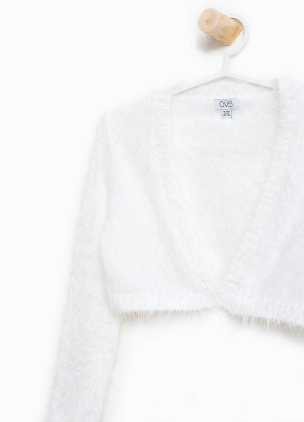 Frayed knitted shrug | OVS