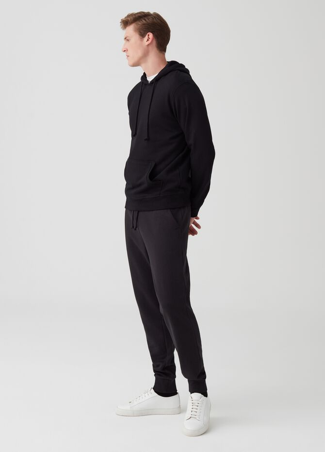 Jogger trousers with drawstring and pockets