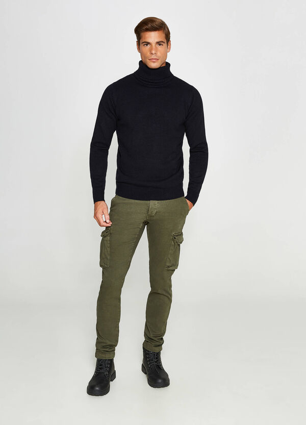 Stretch cargo chino trousers | OVS