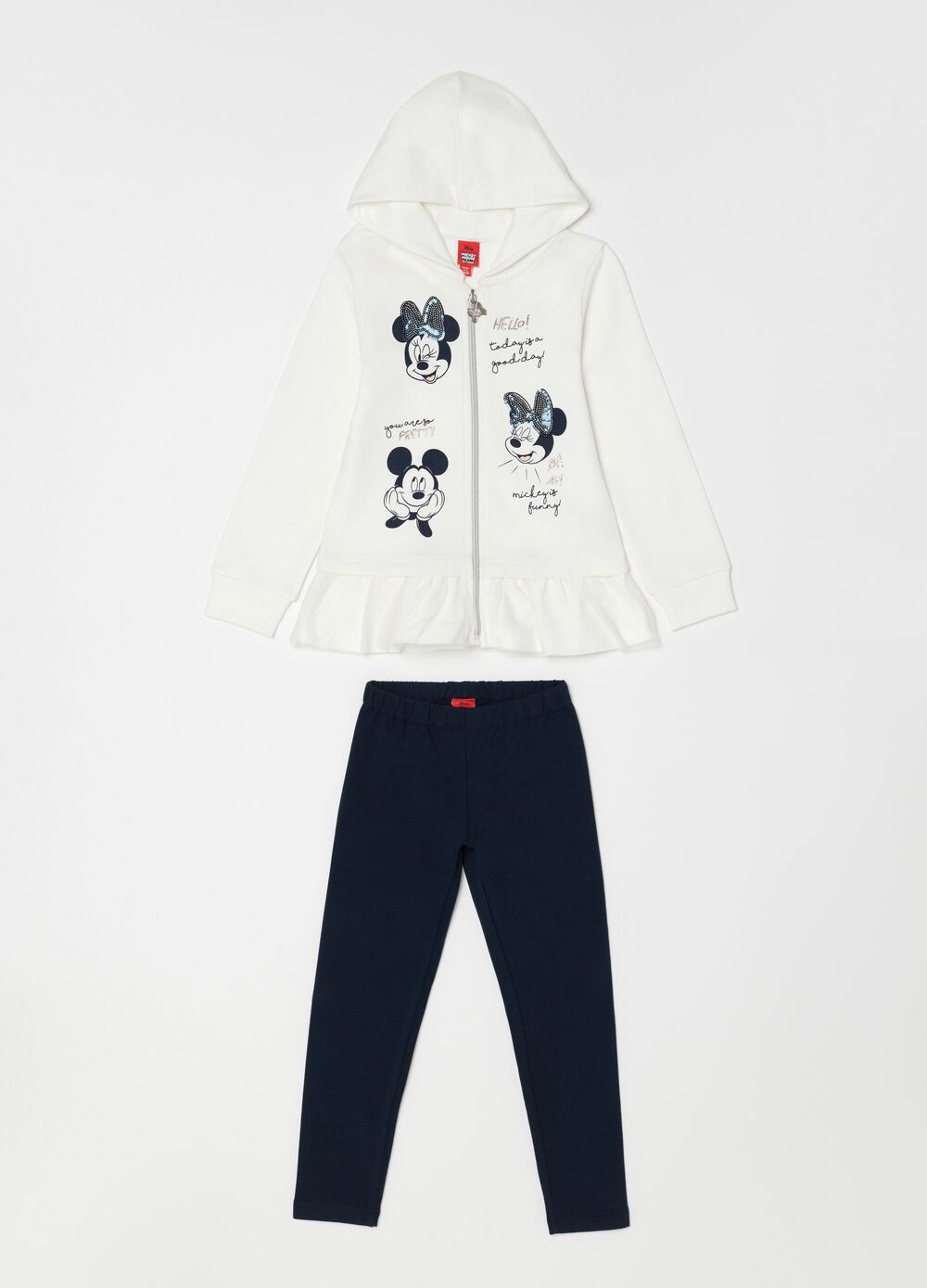 Disney Minnie and Mickey Mouse jogging set