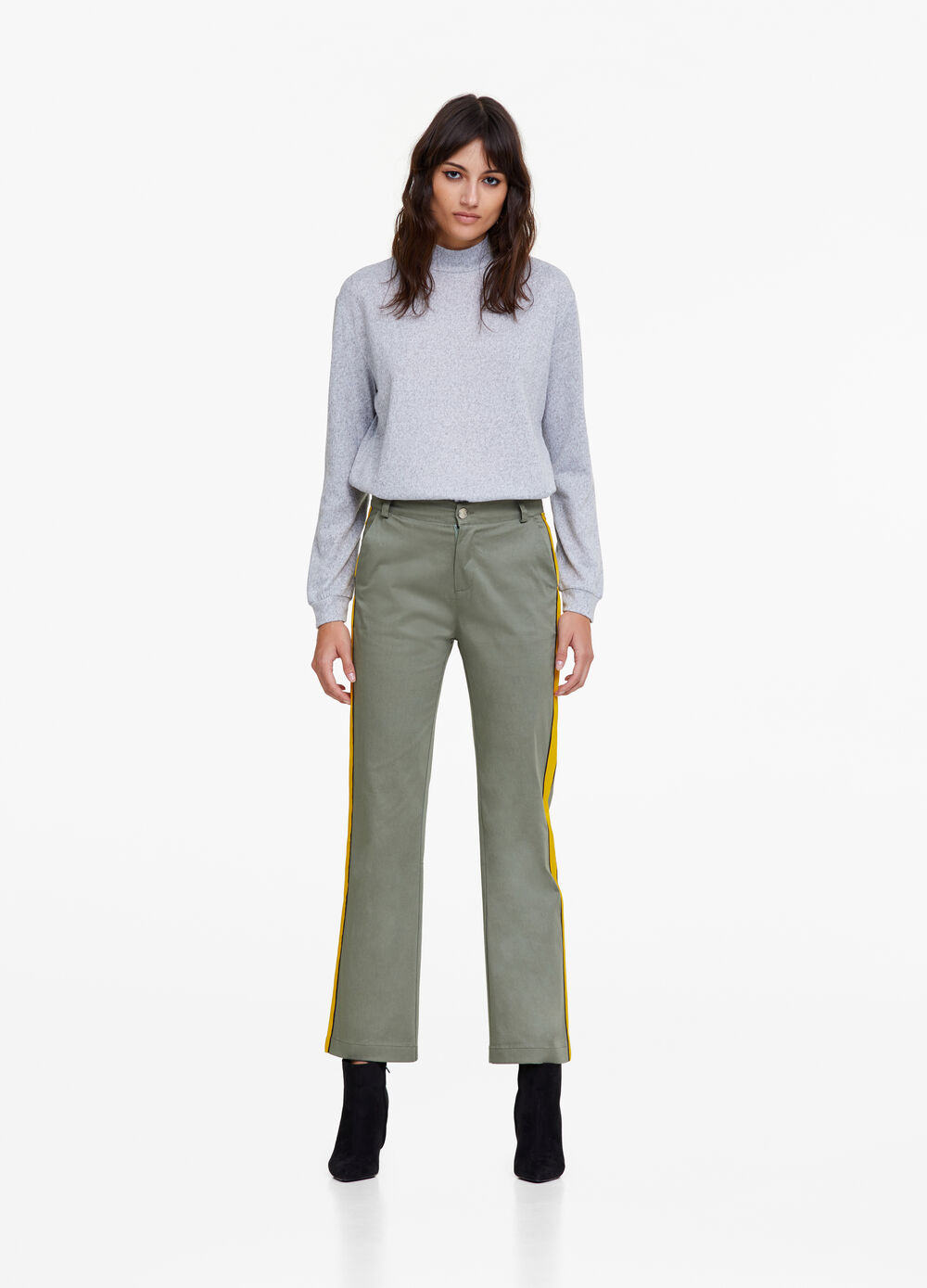 K+K for OVS solid colour trousers