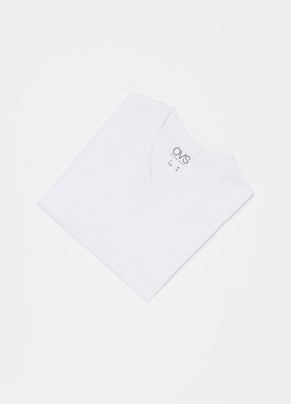 Three-pack undershirts with V neck