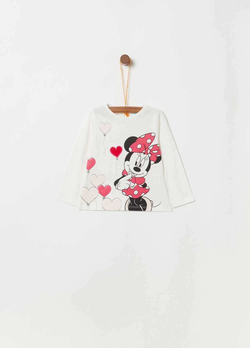Biocotton T-shirt with Disney Minnie Mouse print