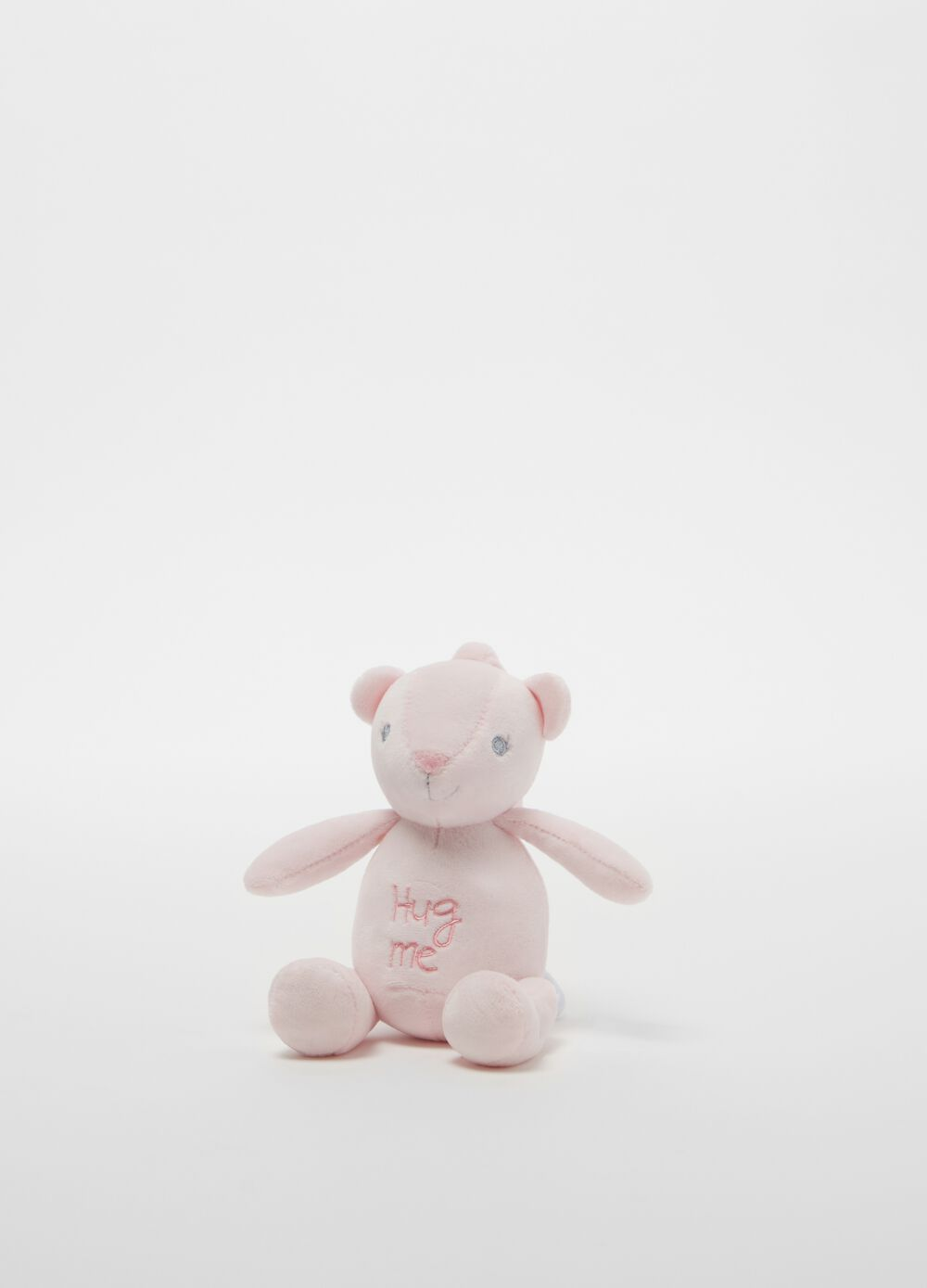 Teddy bear musical soft toy with embroidery