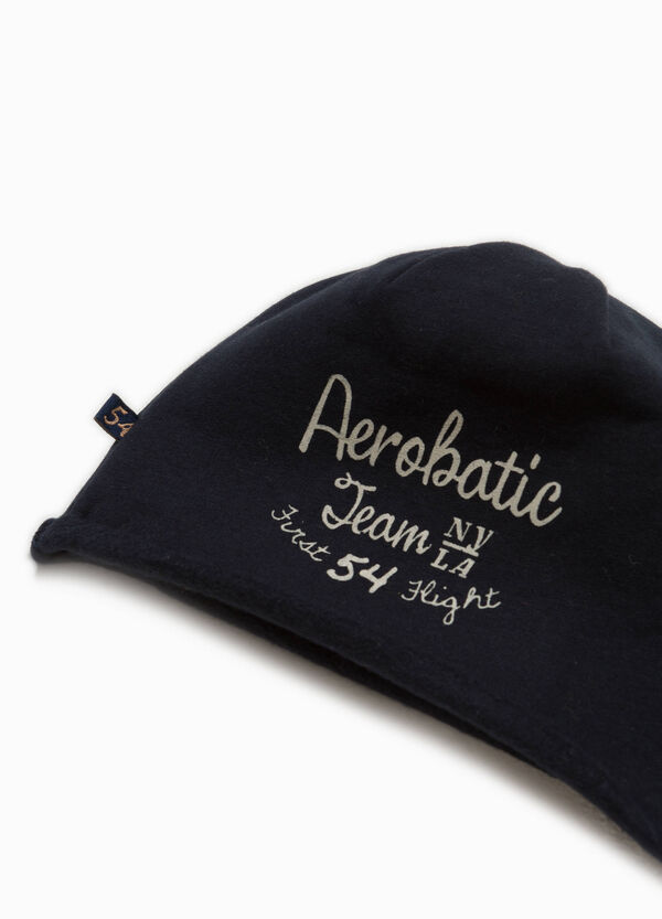 Printed jersey beanie cap | OVS