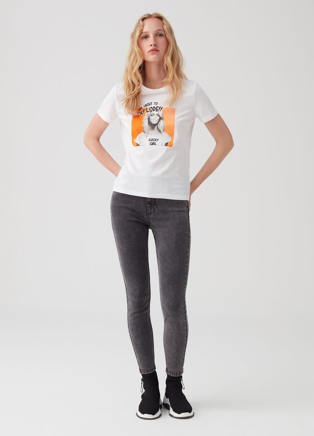 Superskinny-fit jeans with lyocell