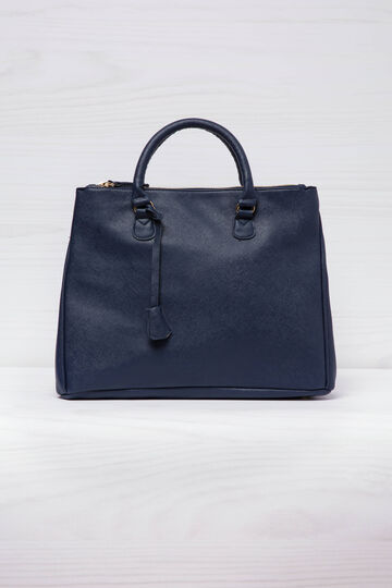 Leather look handbag