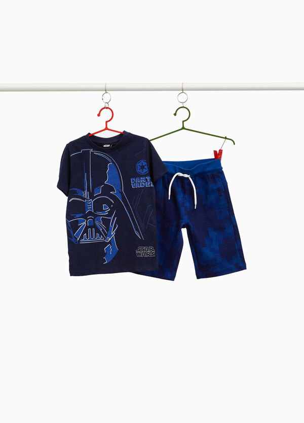 100% cotton outfit with Star Wars print