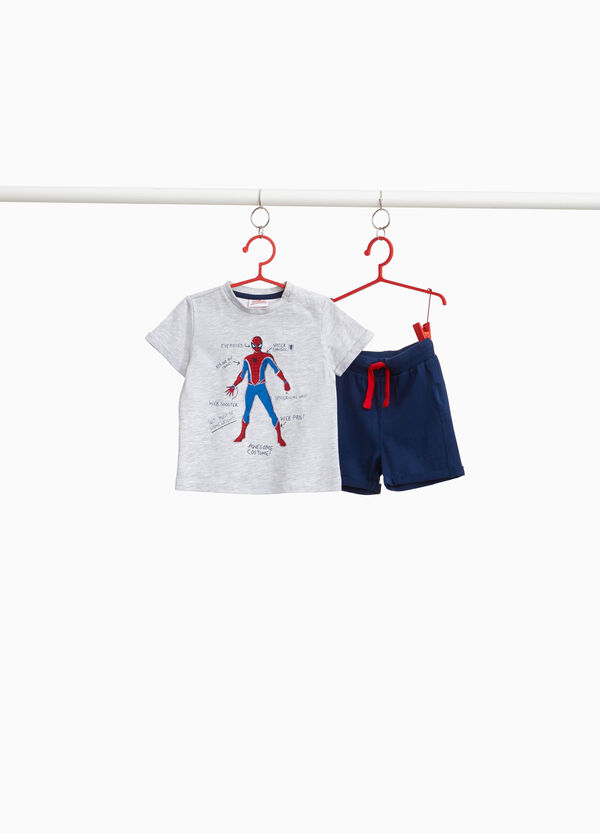 Spiderman outfit in cotton blend