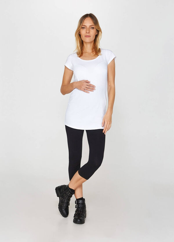 MUM three-quarter-length leggings
