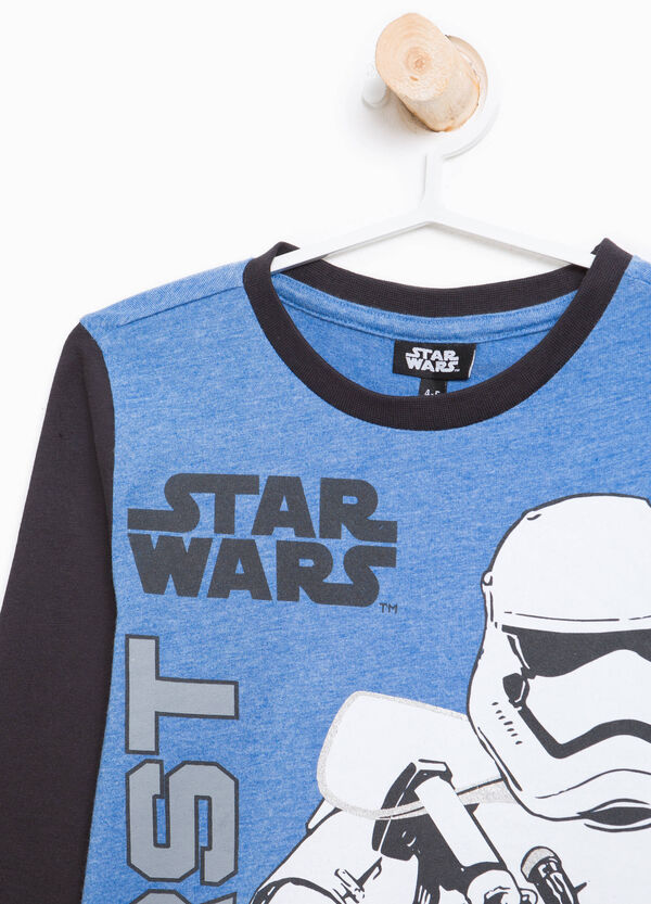 Star Wars printed cotton T-shirt | OVS