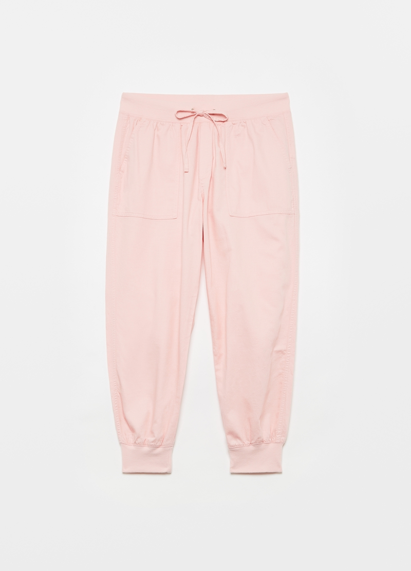 GAP baggy-fit joggers in twill image number null
