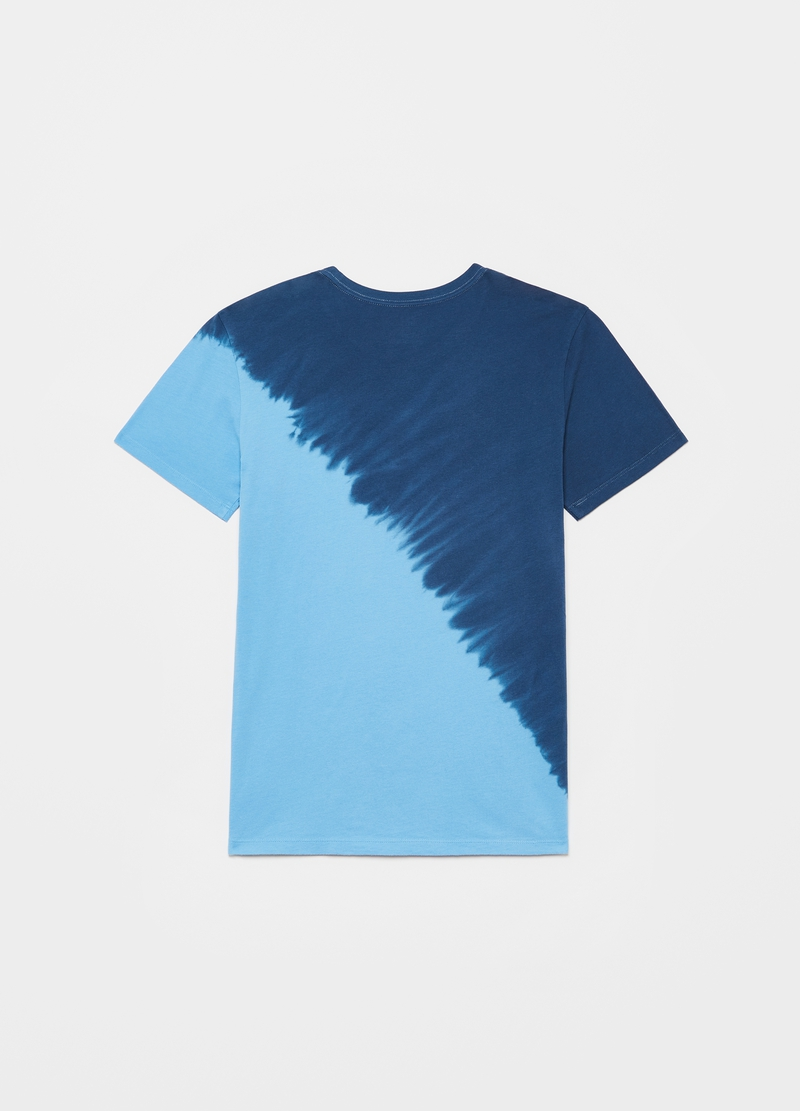 GAP two-tone T-shirt with logo print image number null