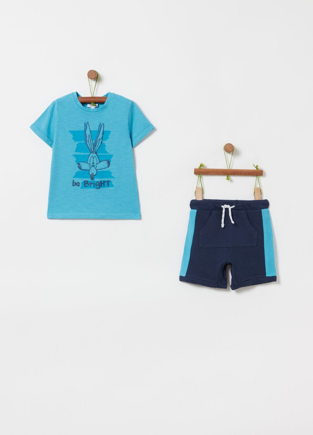 Jogging set with Looney Tunes print
